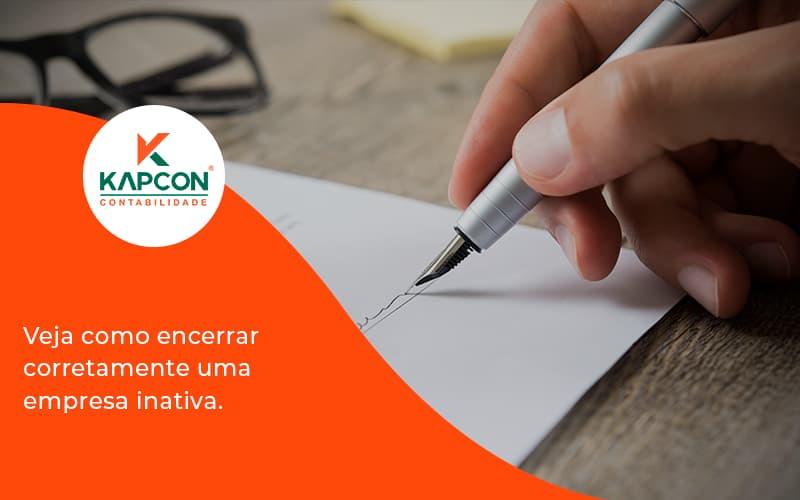 Encerrar Empresa Kapcon - Notícias e Artigos Contábeis em São Paulo   Kapcon Contabilidade